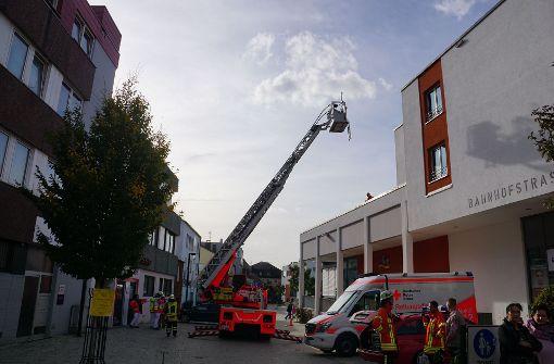 Drei Verletzte bei Brand in Seniorenheim