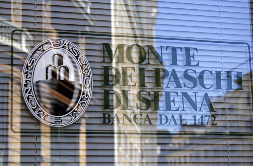Regierungschef Renzi will Italiens Traditionsbank Monte dei Paschi di Siena mit Staatsgeld retten. Foto: dpa