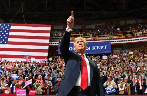 Warum die Midterms Trump gefährlich werden könnten