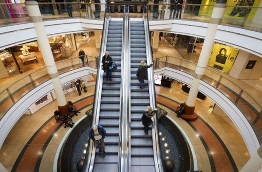 Aggressive Ladendiebe flüchten aus dem Breuningerland