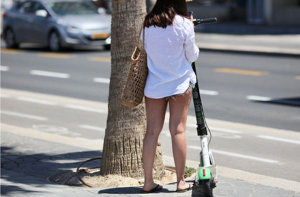 In Tel Aviv gehören sie schon zum Straßenbild. Foto: dpa