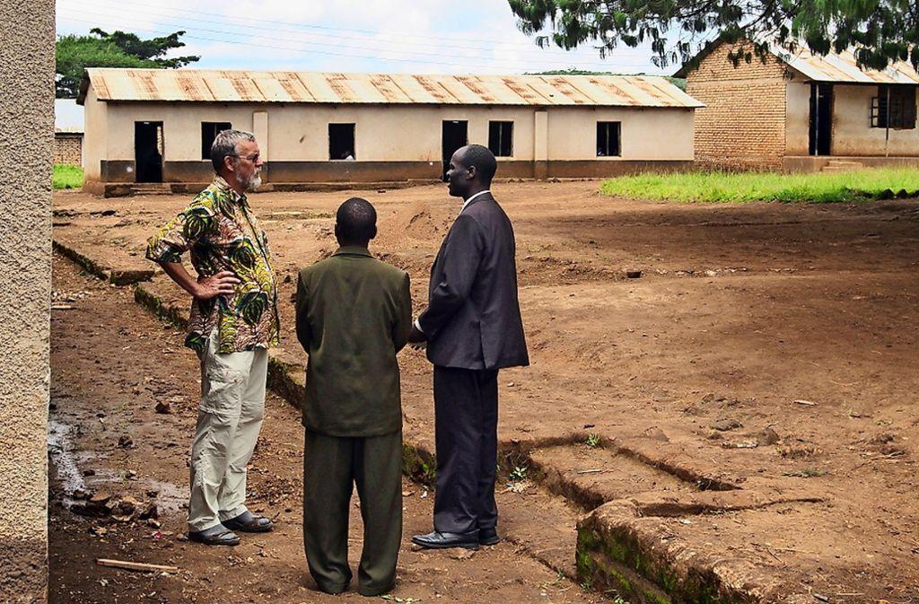 Gerhard Haas besucht regelmäßig Hilfsprojekte in Tansania. Foto: privat