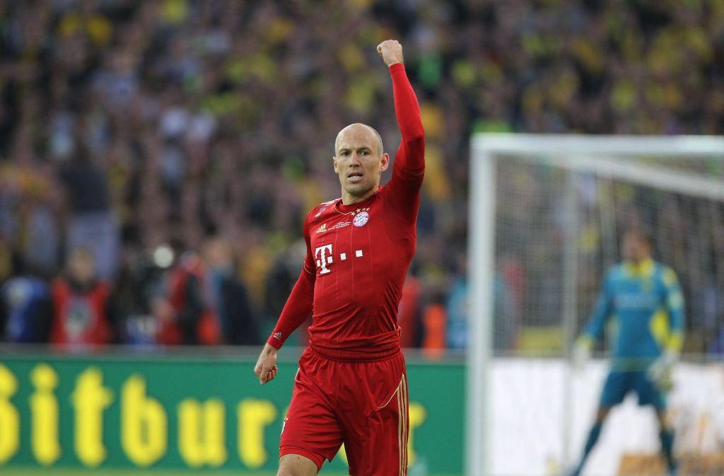 Fußball-Bundesliga gibt es zurzeit  drei Angriffsduos mit jeweils 33 Scorerpunkten. Auch der FC Bayern München ist unter den Favoriten. Foto: dpa