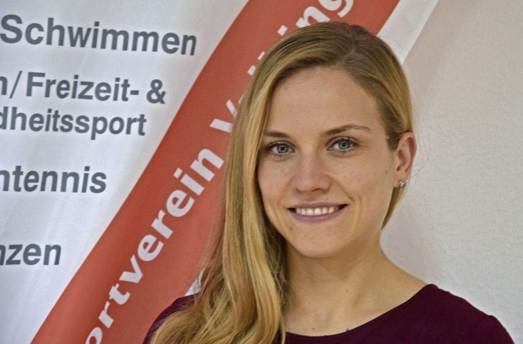 Madeleine Steinbock hat Sportmanagement in Tübingen studiert. Foto: Kratz