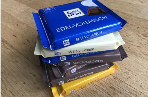 Schokoladen-Krieg vor dem BGH: Gehört das Quadrat Ritter Sport?