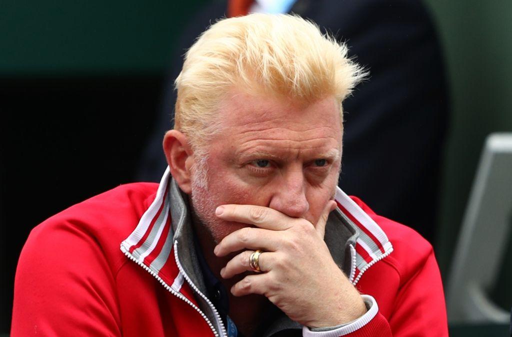 Boris Becker hat auch schon in Stuttgart aufgeschlagen – aber im Viertelfinale war meist Schluss. Foto: Getty