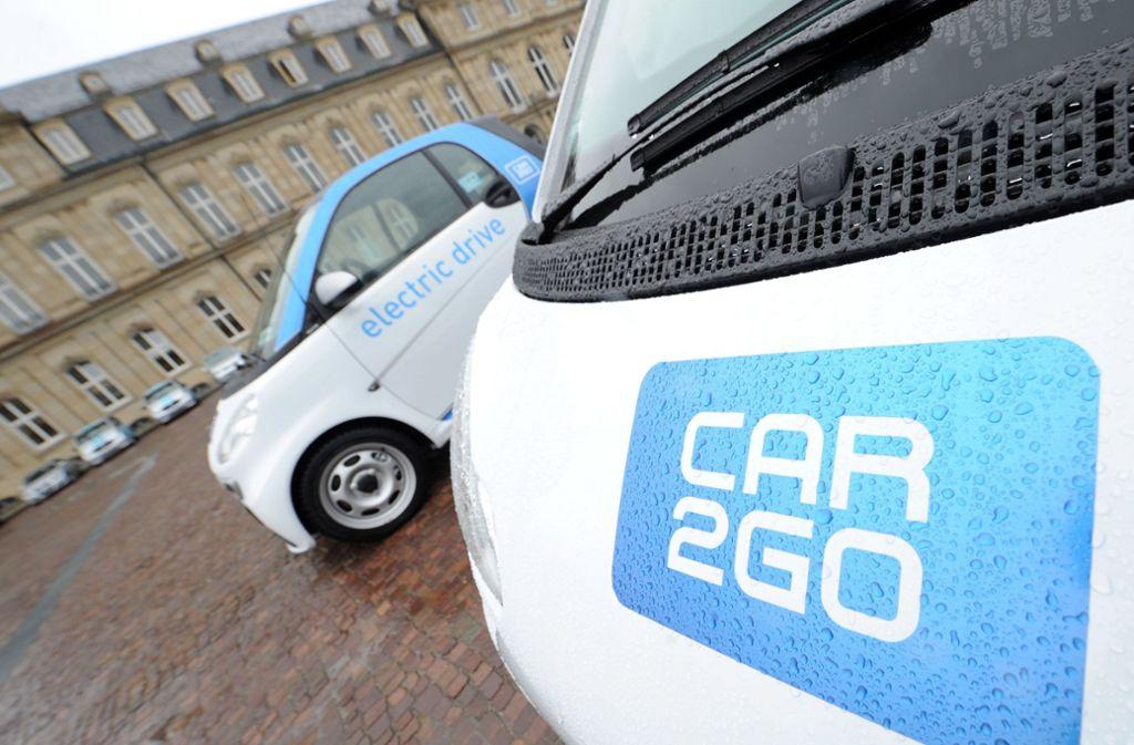 Die Flotten von Car2go und DriveNow werden zusammengelegt. Foto: dpa
