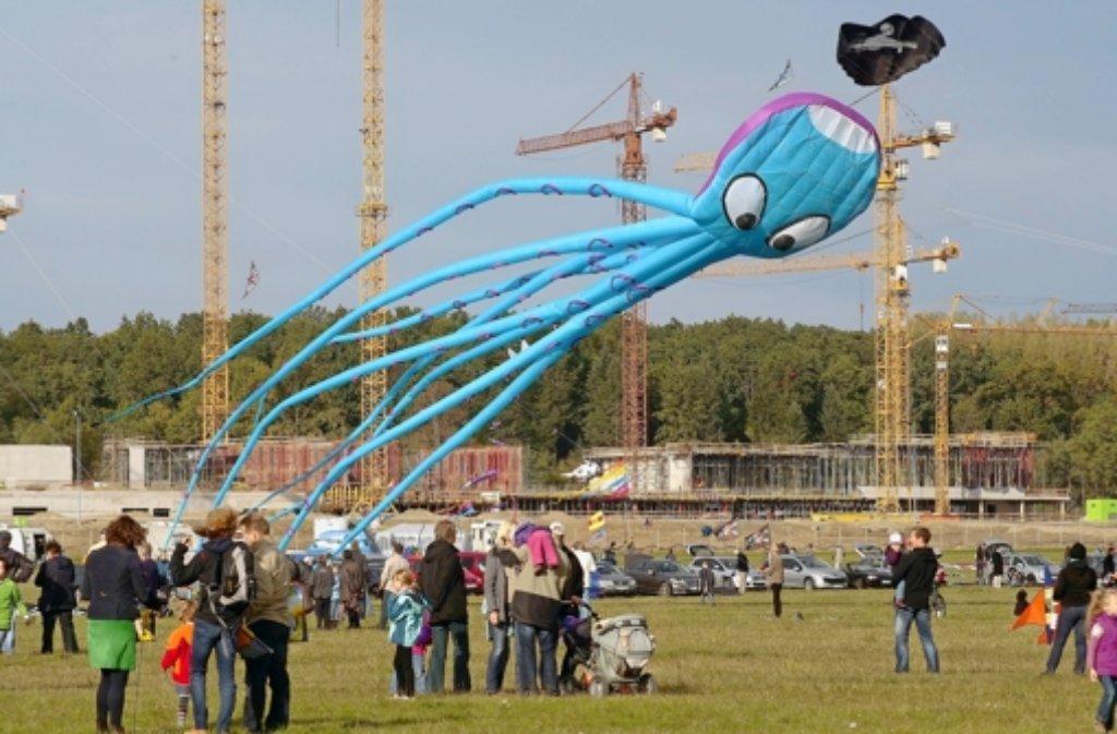 Drachenfest in Malmsheim Foto: factum/Weise