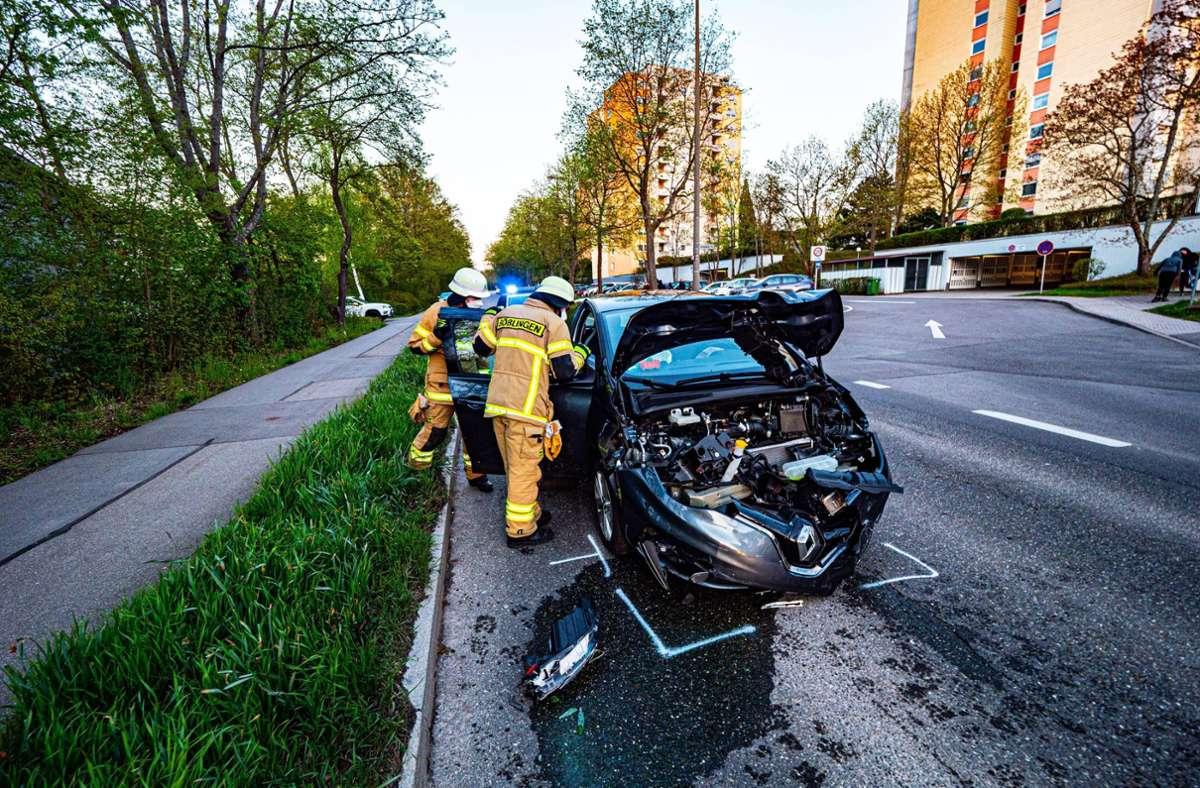 In Böblingen ist es am Freitagabend zu einem schweren Unfall gekommen. Foto: 7aktuell.de/Alexander Hald