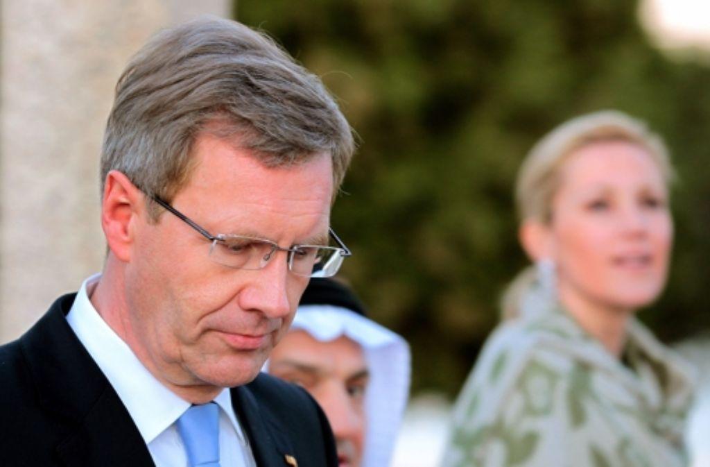 Christian Wulff hat alles verloren: Sein Amt, seine Ehefrau, seine Reputation. Foto: dpa