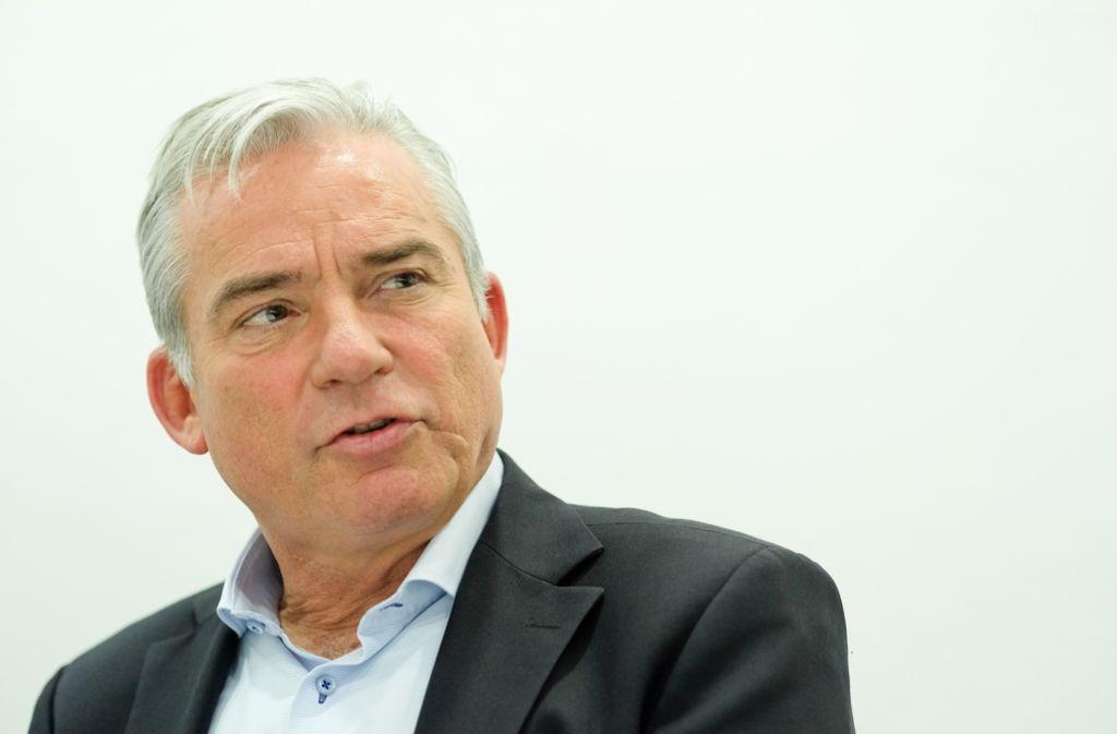 CDU-Chef Thomas Strobl zieht sich durch die Vergabe der CDU-Ministerposten die Kritik der Landtagsfraktion zu. Foto: Lichtgut/Leif Piechowski