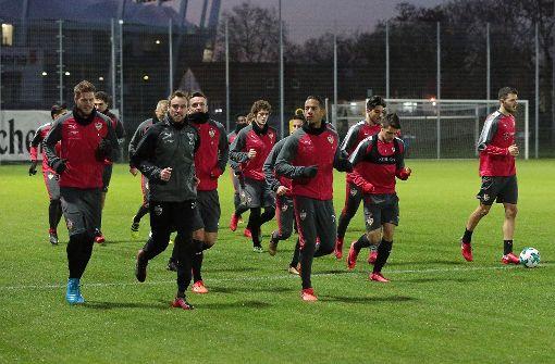 Live-Blog vom VfB-Training