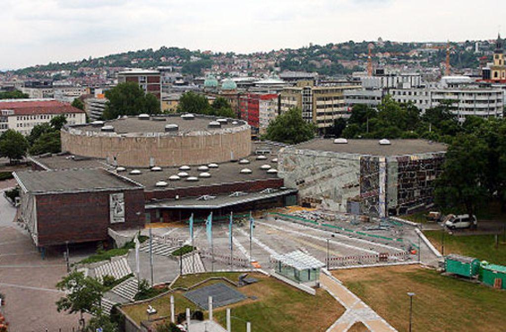 Einer der Veranstaltungsorte der armenischen Kulturtage in Stuttgart: die Liederhalle. Foto: dpa