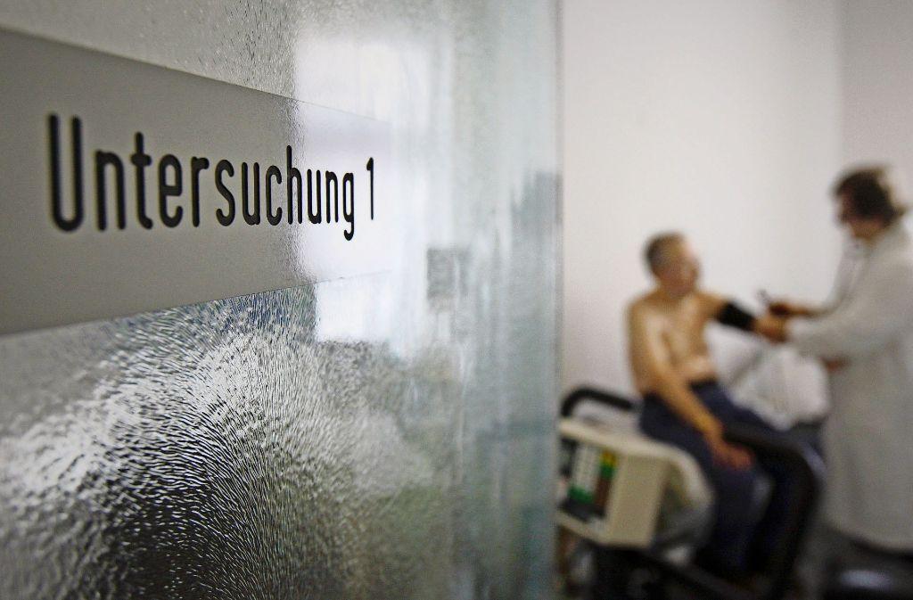 Tätlichkeiten von sehr aggressiven Patienten sind in Stuttgart die große Ausnahme. Foto: AP