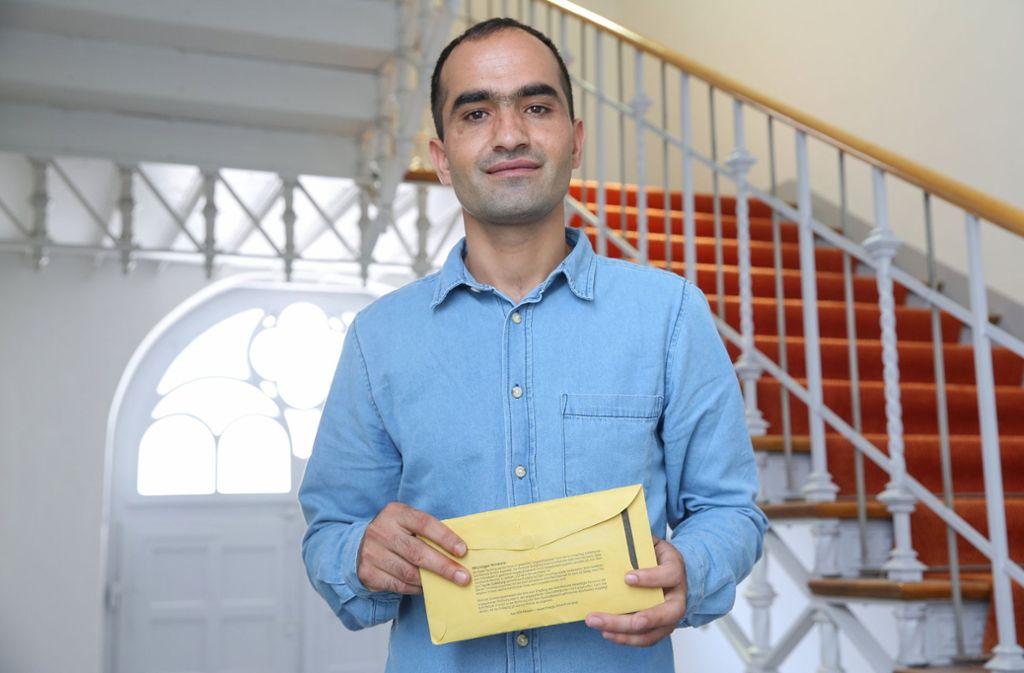 Der Flüchtling Haschmatullah F. aus Afghanistan darf in Deutschland bleiben. Foto: dpa
