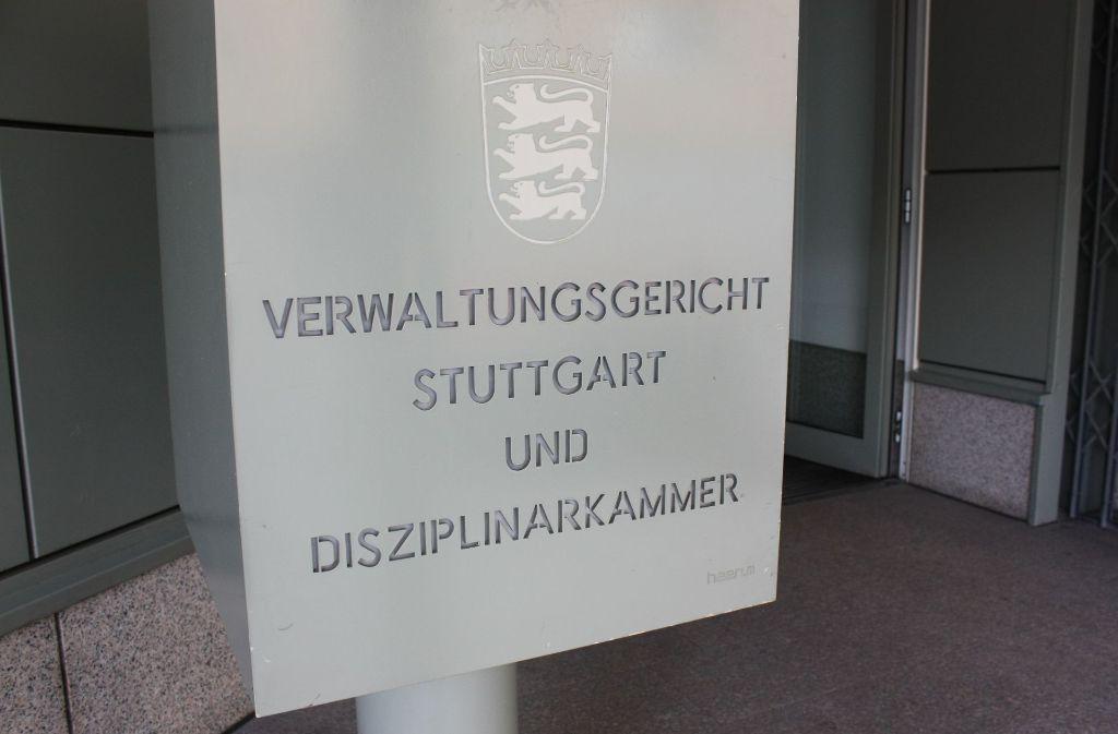 Die Richter am Verwaltungsgericht Stuttgart kommen mit den Verfahren kaum  mehr hinterher. Foto: Natalie Kanter