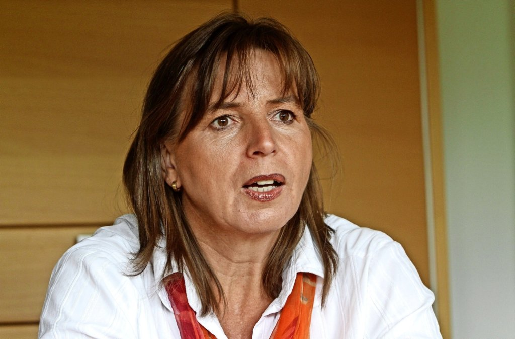 Die frühere Bürgermeisterin Ursula Kreutel.  . Foto: factum Foto: