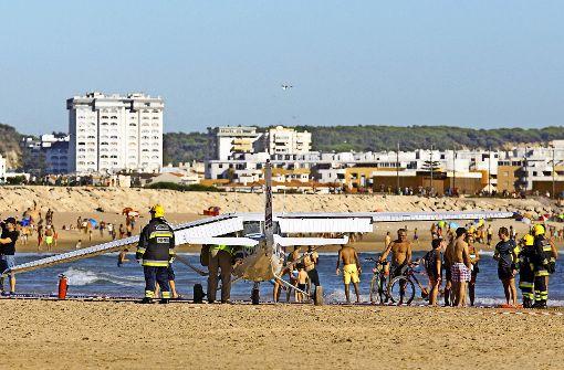 Horror am Strand bei Lissabon