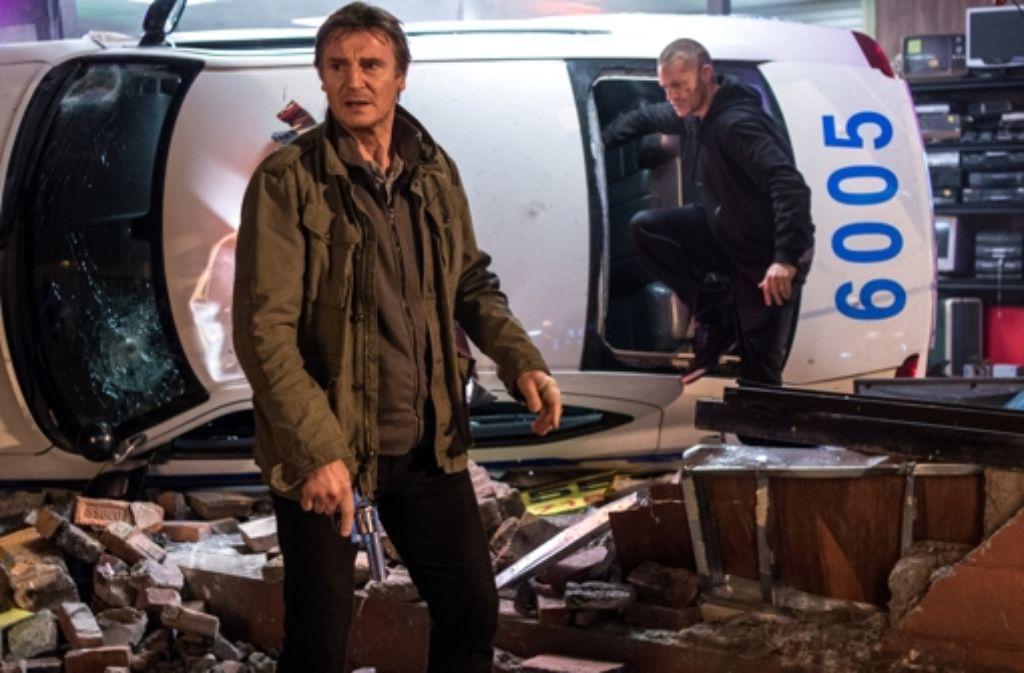 LIam Neeson hat sich auf seine alten Tage zum Old-School-Rabatzmacher des Kinos entwickelt. Foto: Warner Bros.
