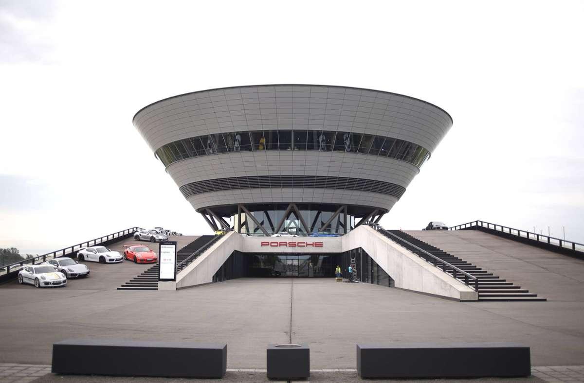 Das Porsche-Werk in Leipzig wird derzeit erweitert. Foto: imago/Köhn