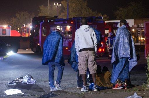 Sechs Flüchtlinge in Rottenburg verletzt