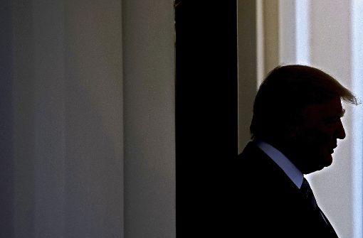 Donald Trump in der Abwärtsspirale