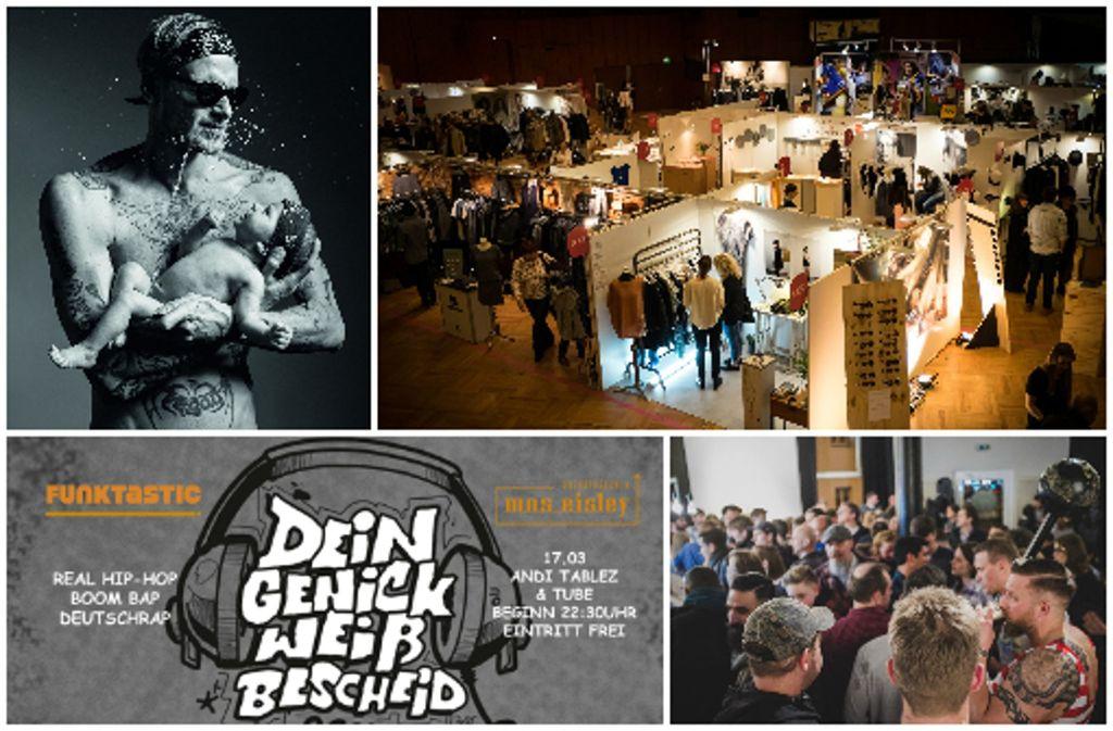 Von Kunst bis Party – am Wochenende ist in Stuttgart und der Region einiges geboten. Foto: Collage