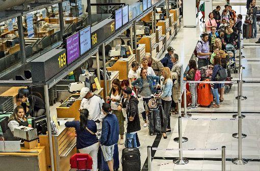 Flughafen Stuttgart gehört zu den Pünktlichen