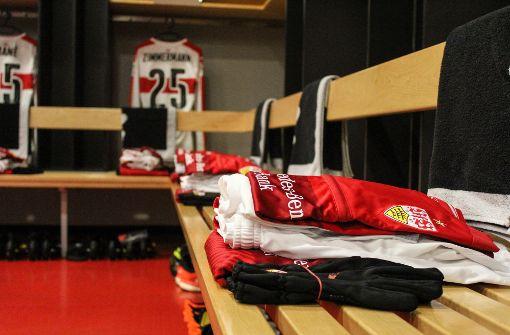 Exklusiver Einblick in die Kabine des VfB Stuttgart