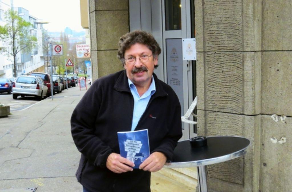 Thomas Schulz will auch noch ein zweites Buch schreiben. Foto: Caroline Leibfritz