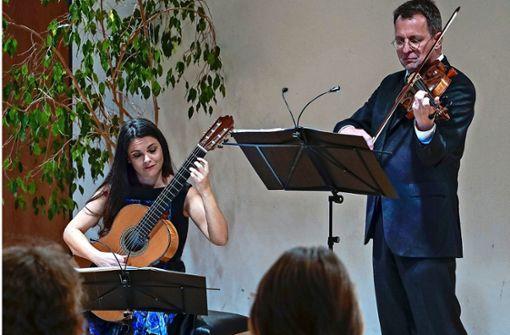 Ein ungewöhnliches musikalisches Paar