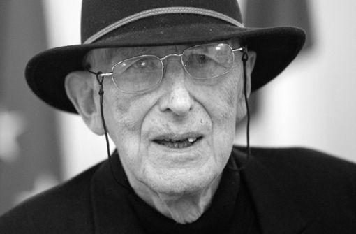 Der unermüdliche Autor und Zeichner ist tot