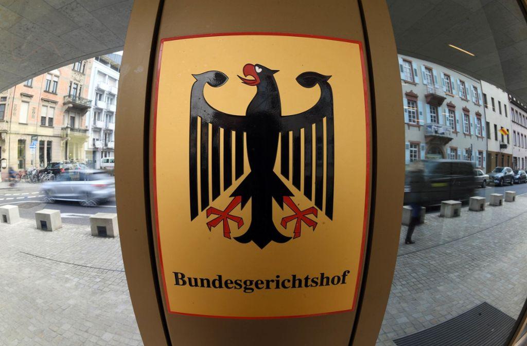 In Karlsruhe ist es zu einem Polizeieinsatz vor dem Gebäude des Bundesgerichtshofs gekommen. Foto: dpa