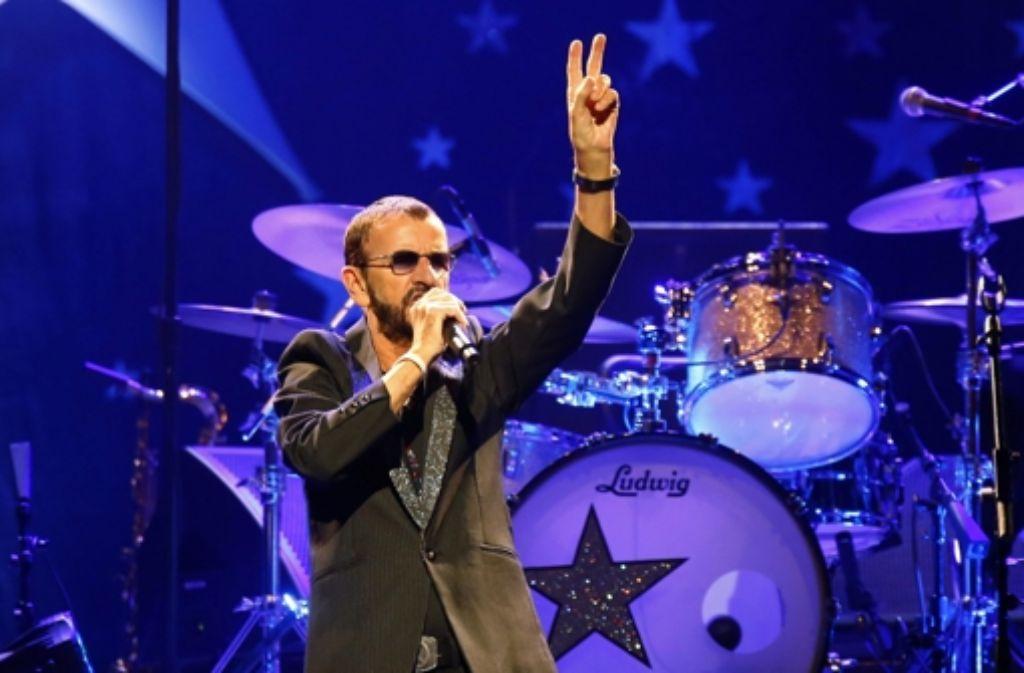 Ex-Beatle Ringo Starr Foto: dpa