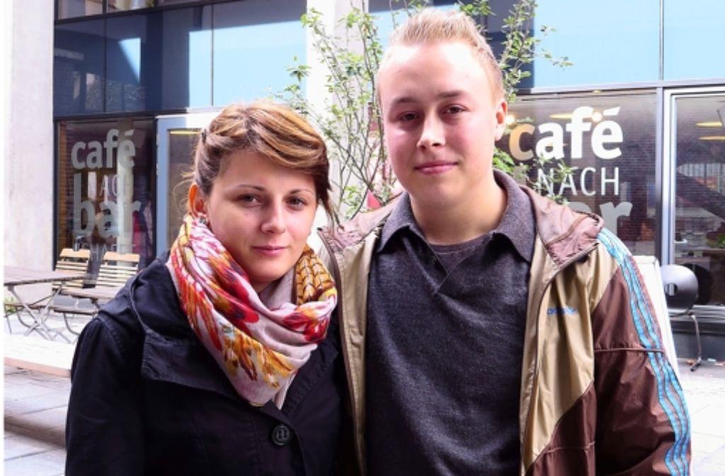 Arta Redjepi und ihr Freund Marco Heimerdinger Foto: Heike Armbruster