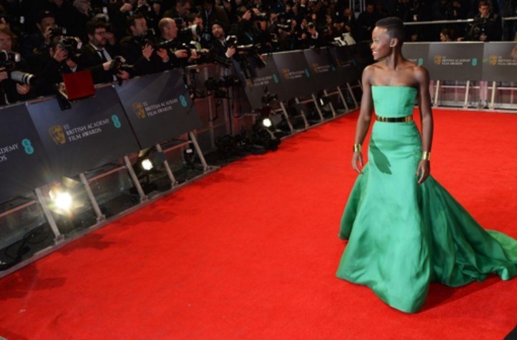 Lupita Nyong'o ist fast über Nacht zum Star geworden. Foto: Getty Images