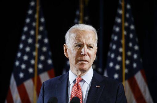 Joe Biden gerät zunehmend unter Druck