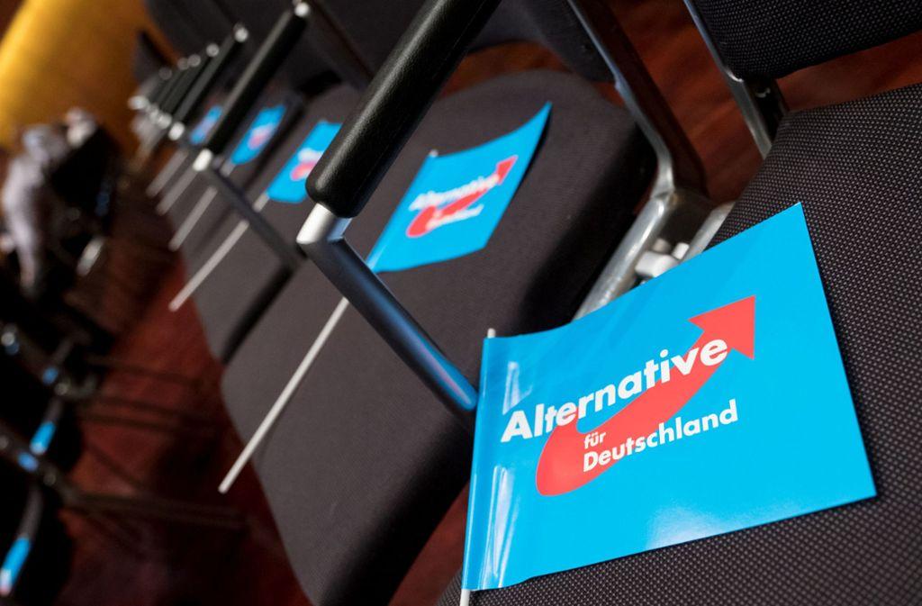 Die AfD wehrt sich gegen die Einschätzung des Verfassungsschutzes. Foto: dpa/Peter Steffen