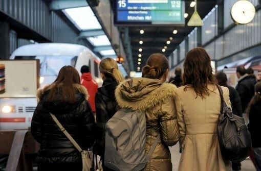 30 Prozent der Fernzüge in Stuttgart zu spät