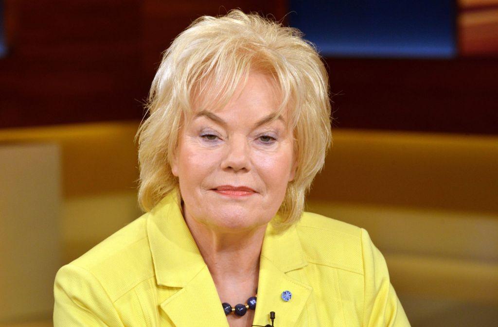 Die ehemalige CDU-Politikerin fällt immer wieder mit ihren provokativen Aussagen auf. Foto: dpa-Zentralbild