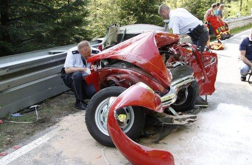 Ehepaar stirbt bei Crash mit VW-Oldtimer
