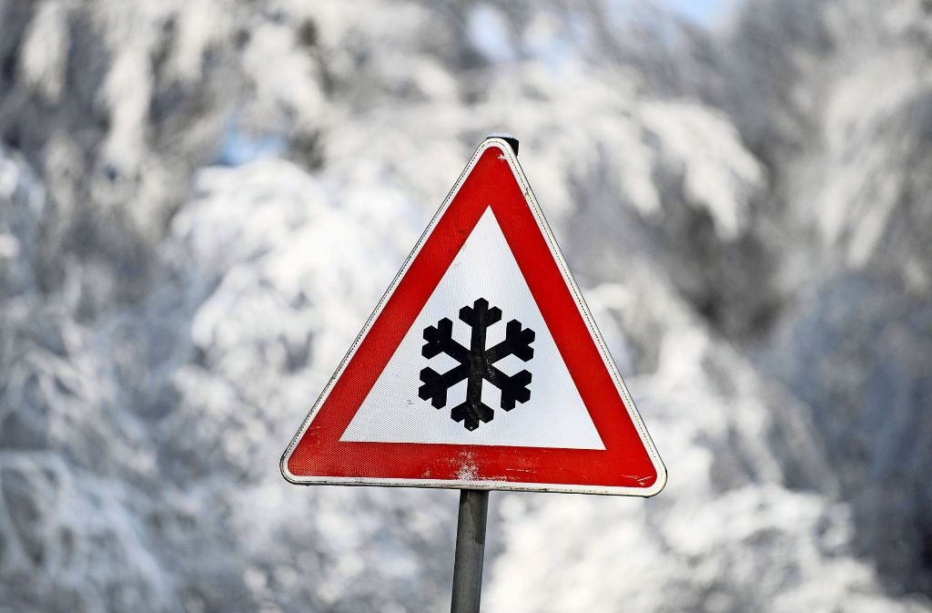 Vorsicht ist geboten! Wohl dem, der einen Warnmelder hat. Foto: dpa