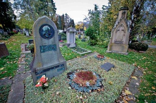 Auf der Suche nach berühmten Gräbern