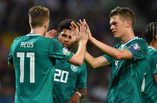 Deutsche Nationalmannschaft siegt in Weißrussland mit 2:0