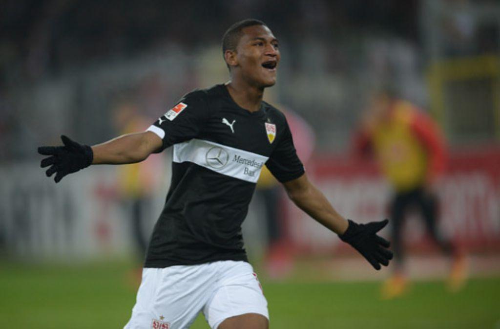 Am 13. Bundesliga-Spieltag trifft der VfB auswärts auf den SC Freiburg. Carlos Gruezo erzielte das 2:1 für den VfB. Foto: dpa
