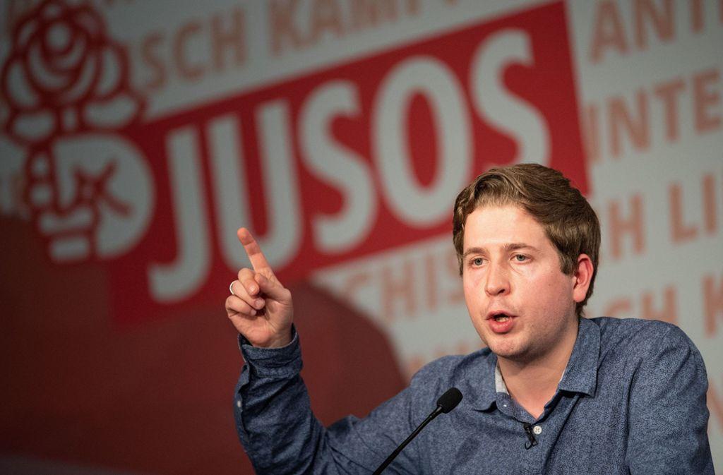 Kevin Kühnert wird von vielen Seiten kritisiert. Foto: dpa