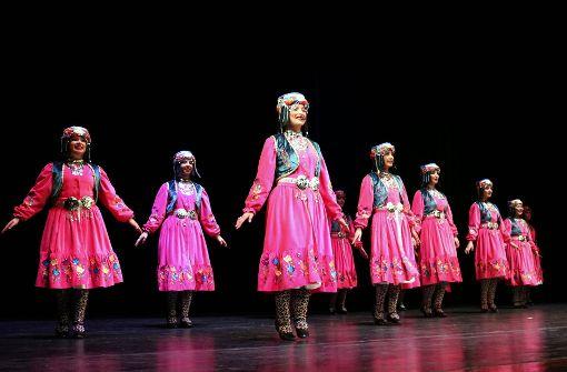 In der Schwabenlandhalle feiern Türken auch ohne Tee
