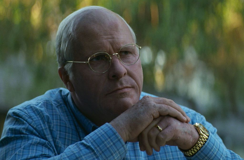 Christian Bale als Dick Cheney Foto: Verleih