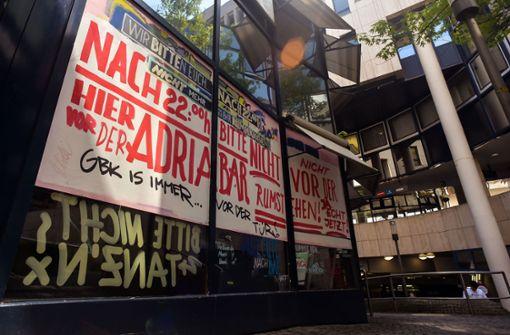 Ice Café Adria Ziel von Buttersäure-Anschlägen