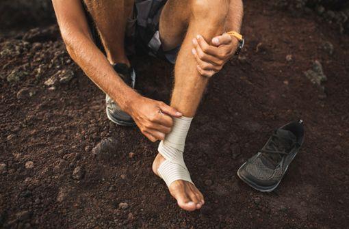Bewegung mit bandagiertem Gelenk – was ist erlaubt?